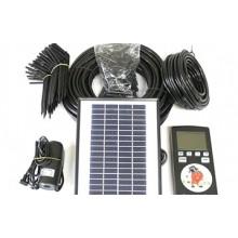 Автоматическая система капельного полива с солнечной батареей