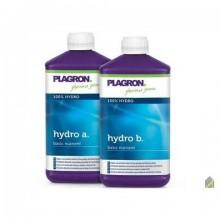 Plagron Hydro A+В  удобрение для гидропоники 1л*2