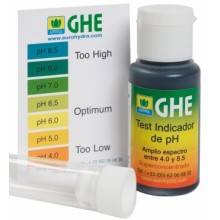 Жидкий индикатор pH test kit GHE 30ml